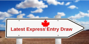 The Latest Express Entry Draw marked the decrease of 3