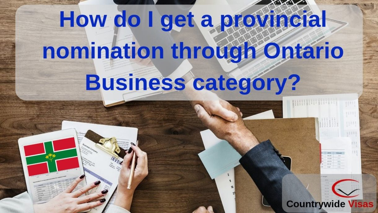 Ontario business category