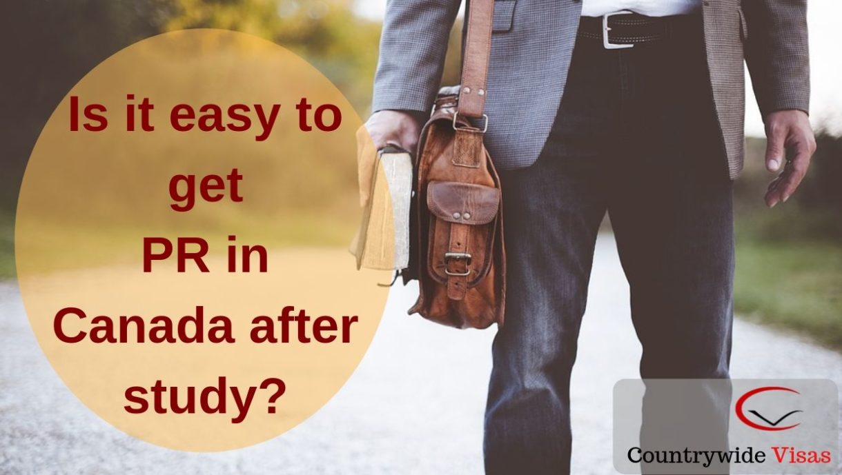 Canada PR after study visa