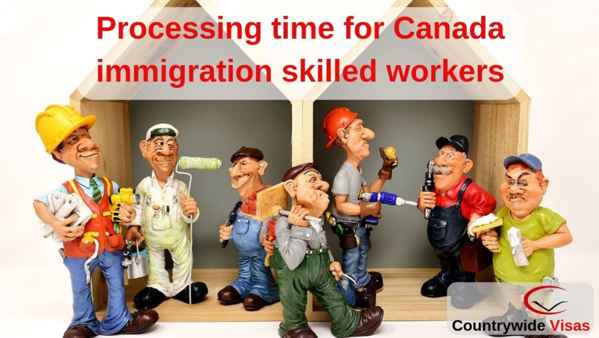 Canada skilled worker processing time