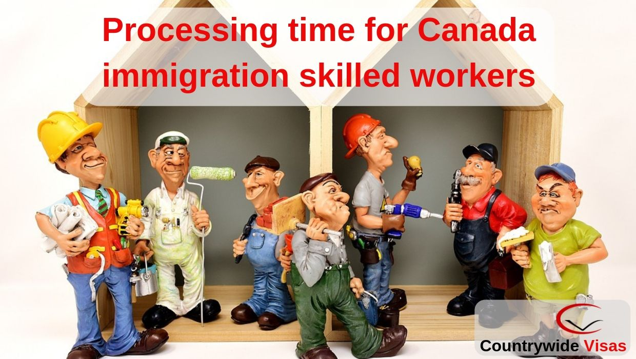 Processing time for Canada immigration skilled workers