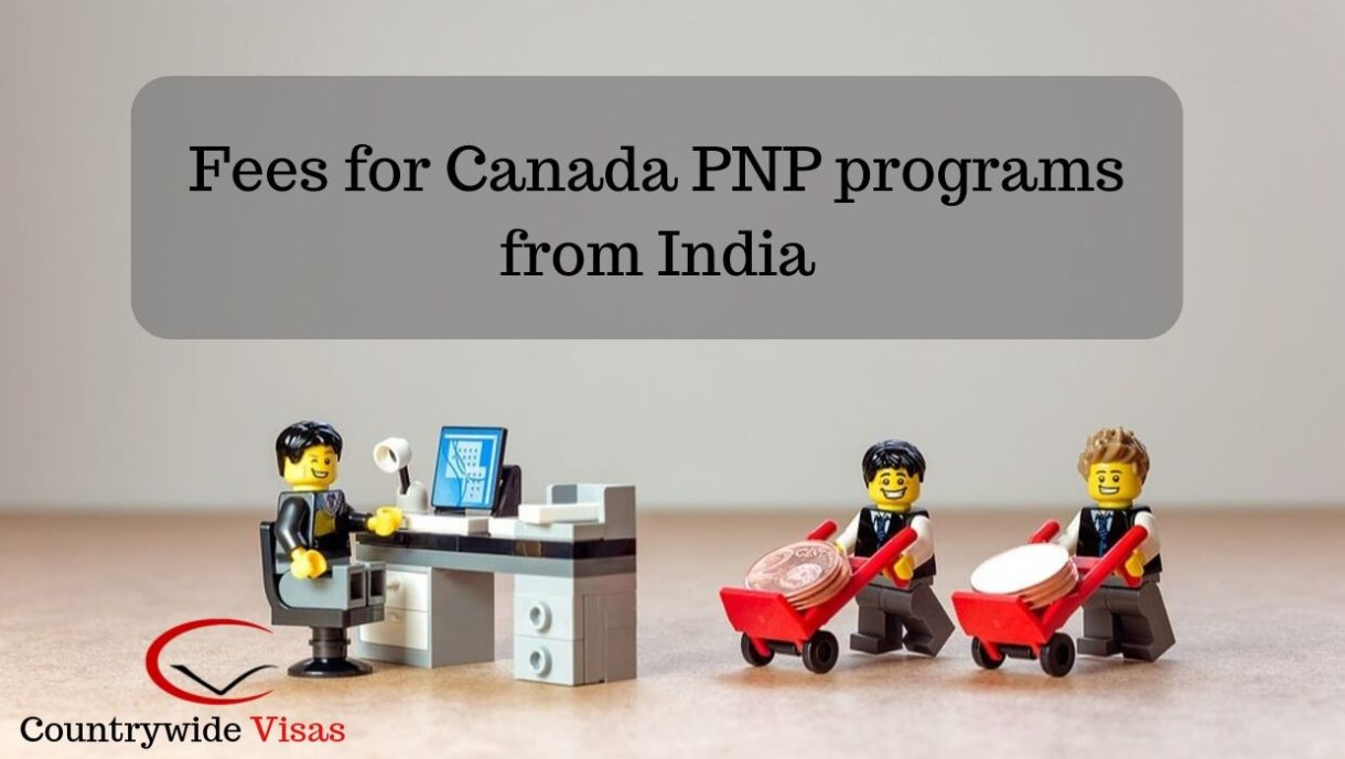 Canada PR Fees in India 2019