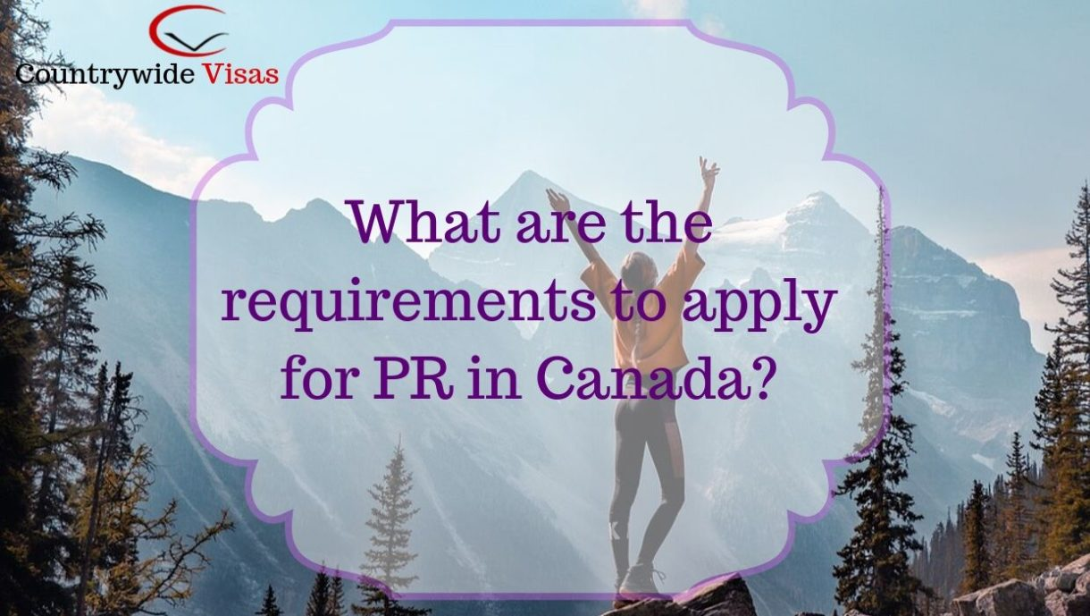 Apply for Canada PR 2019