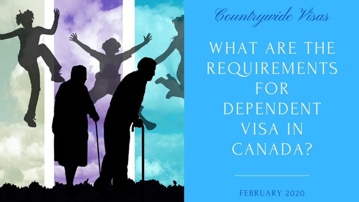 Canada Dependent Visa Requirement