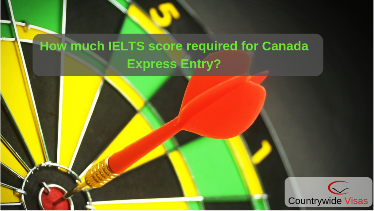 How much IELTS score required for Canada Express Entry