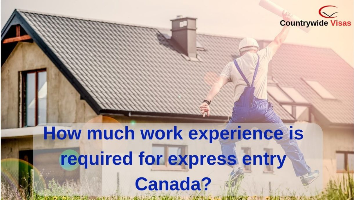 Canada express entry work experience