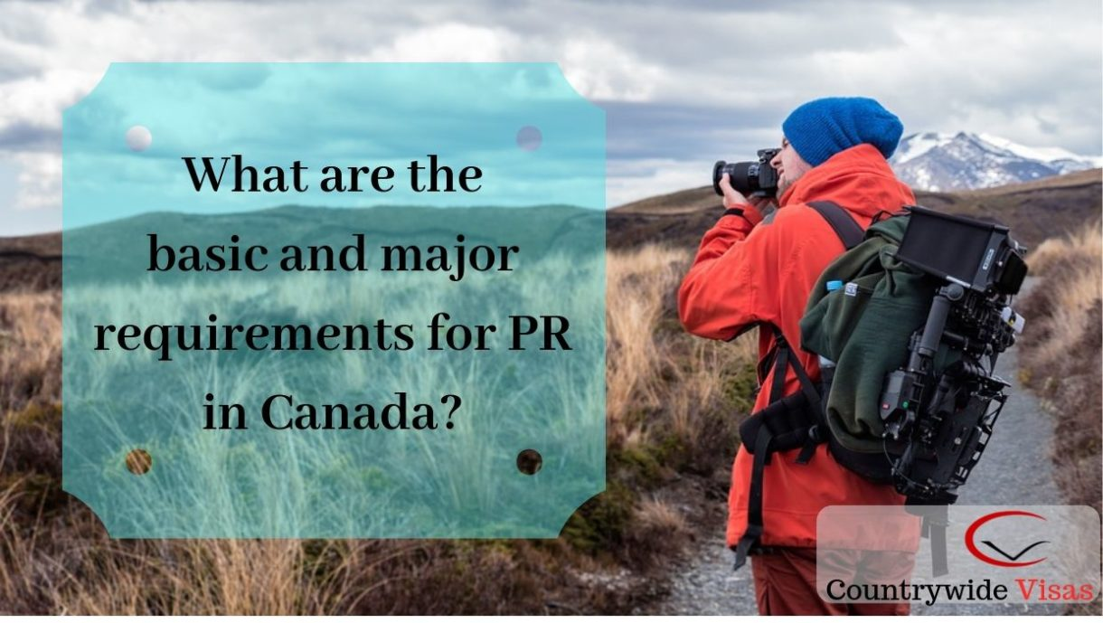 Requirements for Canada PR