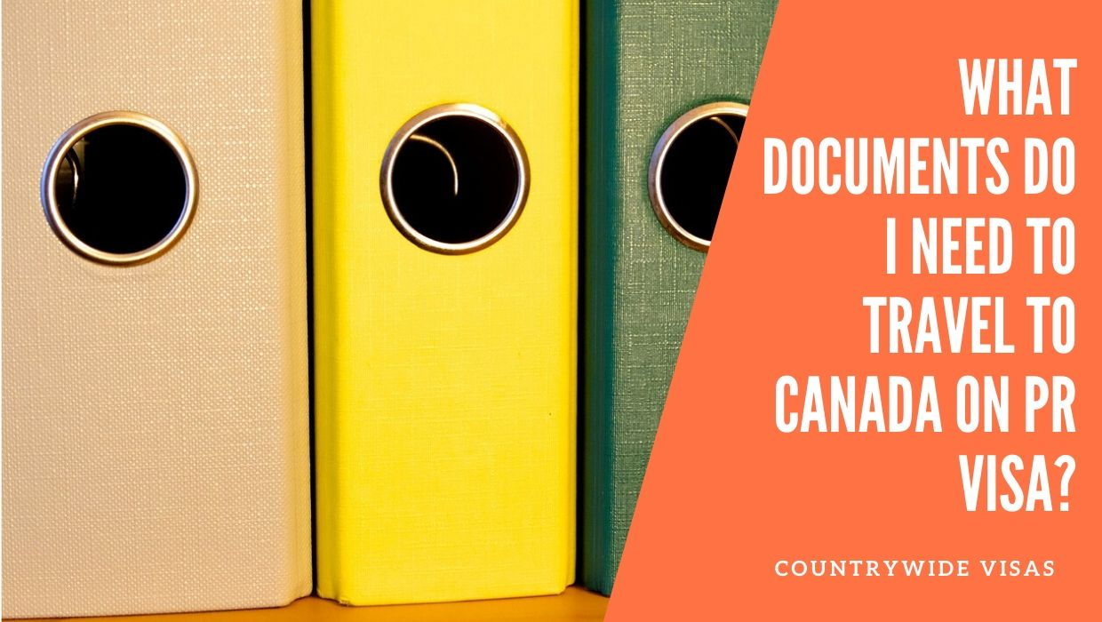 Documents required for Canada PR
